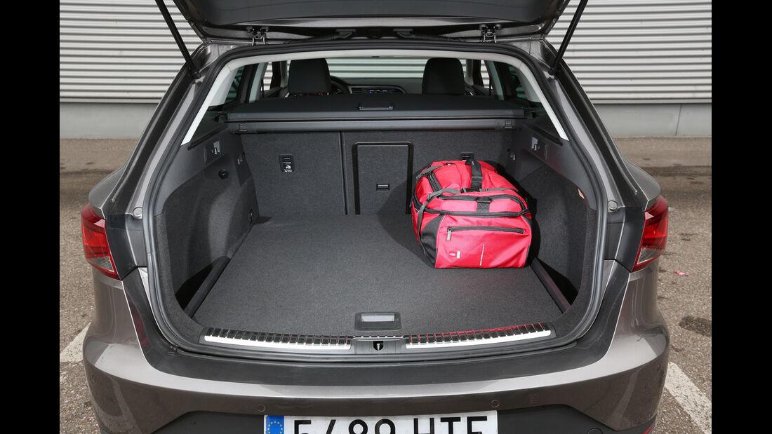 Seat León ST 1.4 TSI, Kofferraum, Ladefläche