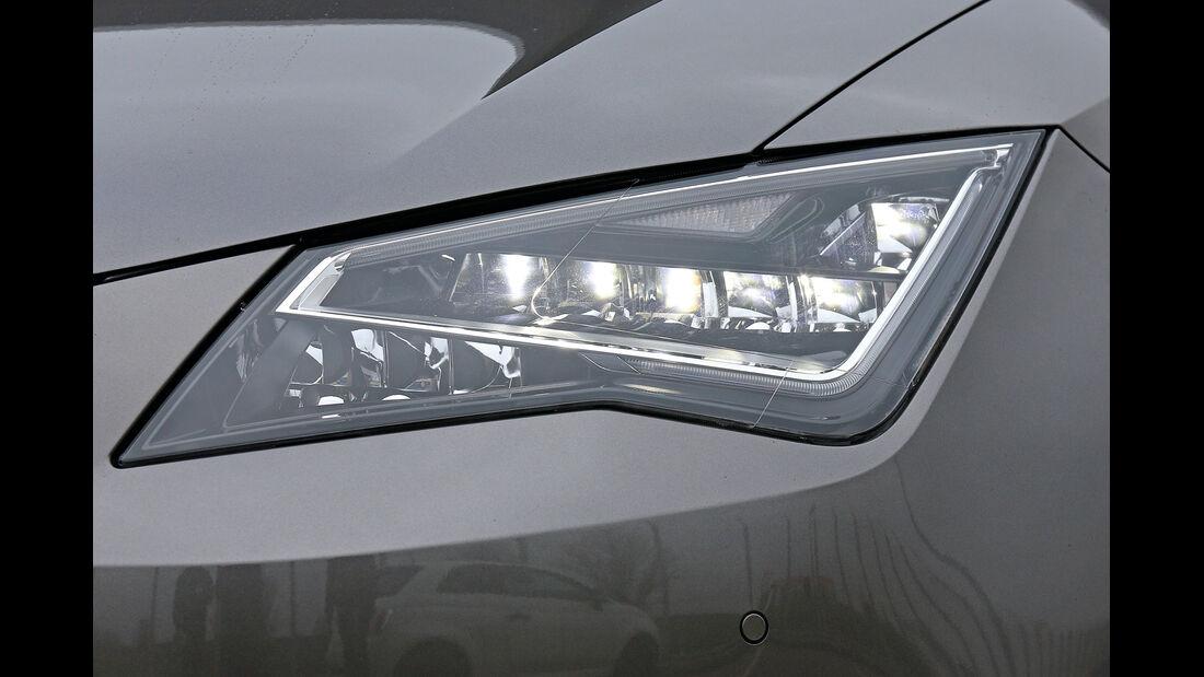Seat León ST 1.4 TSI, LED-Lampen, Frontscheinwerfer