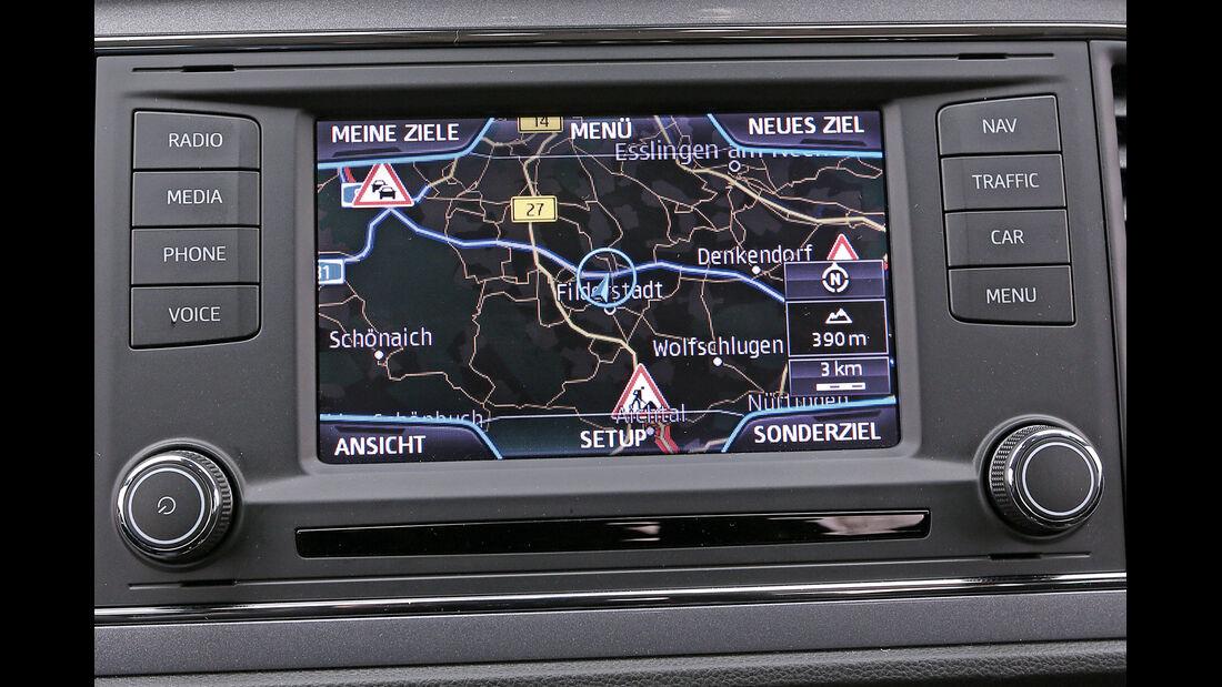 Seat León ST 1.4 TSI, Navi, Bildschirm