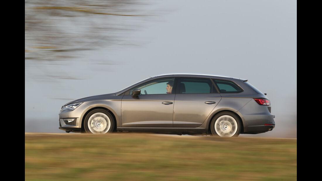 Seat León ST 1.4 TSI, Seitenansicht