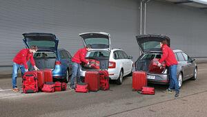 Seat León ST 1.4 TSI, Skoda Octavia Combi 1.4 TSI, VW Golf Variant 1.4 TSI, Heckklappe