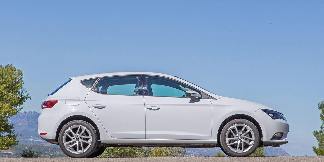 Seat León, Viertürer, Seitenansicht