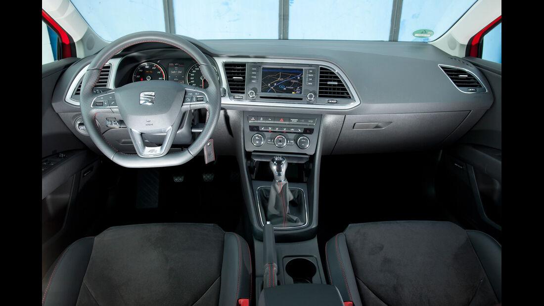 Seat Leon 1.4 TSI, Cockpit