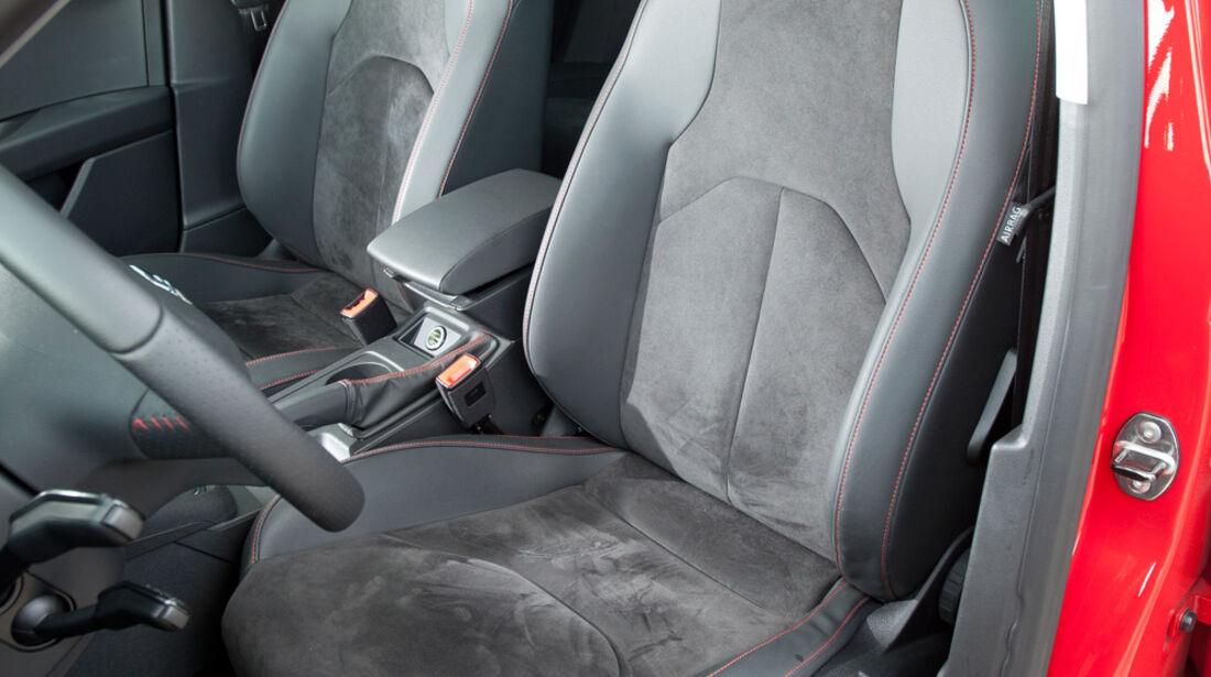 Seat Leon 1.4 TSI, Fahrersitz