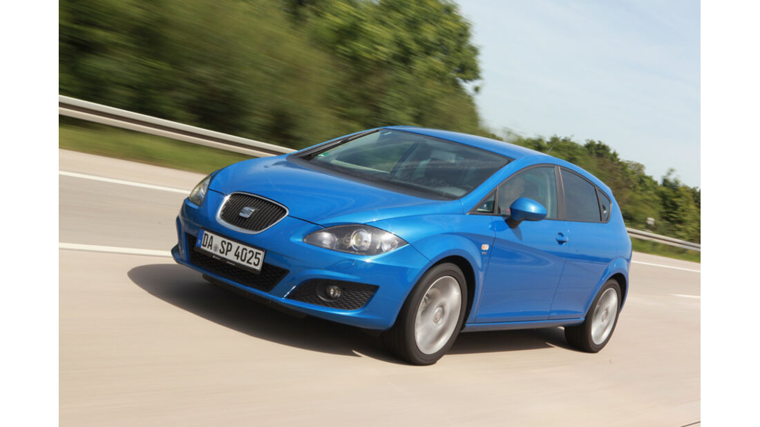 Seat Leon 1.4 TSI, Front, Frontansicht