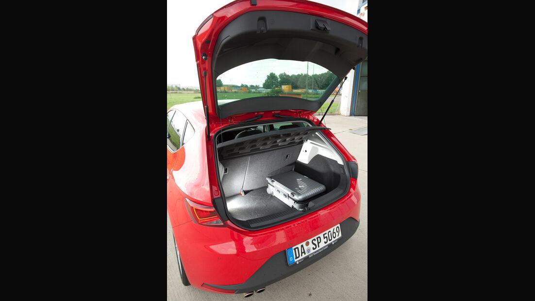 Seat Leon 1.4 TSI, Heckklappe