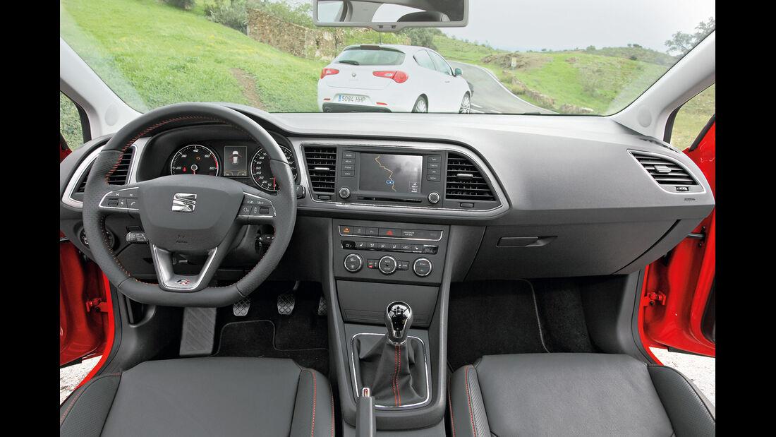 Seat Leon 2.0 TDI, Cockpit