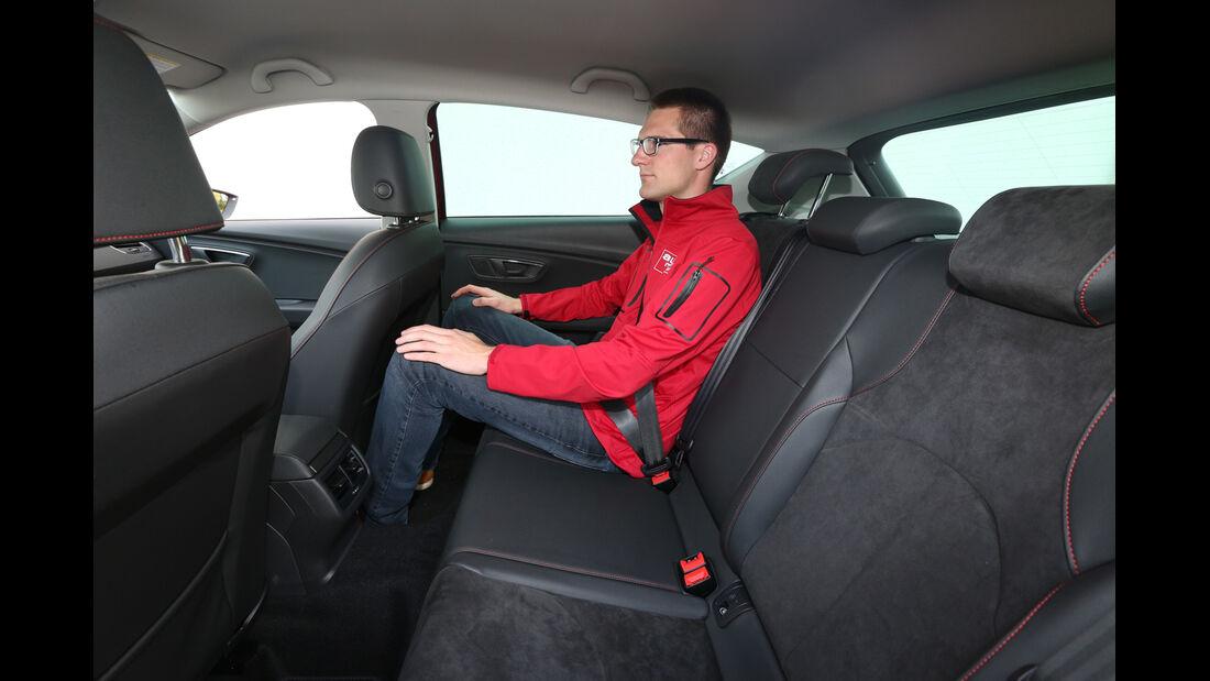 Seat Leon 2.0 TDI, Fondsitz, Beinfreiheit