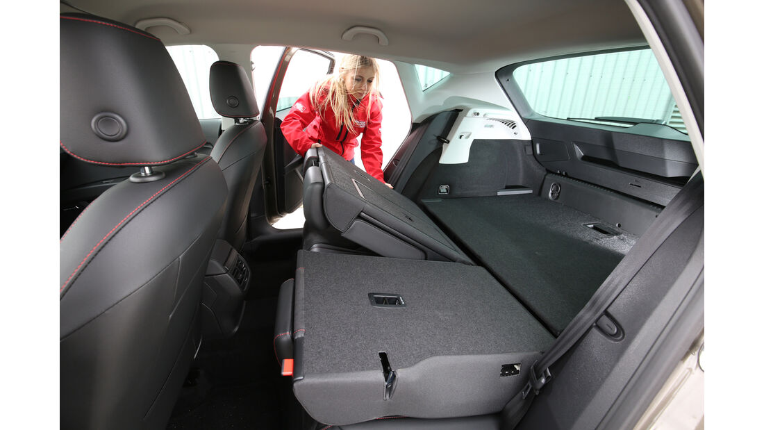 Seat Leon 2.0 TDI, Fondsitz, Umklappen
