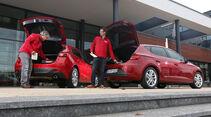 Seat Leon 2.0 TDI, Mazda 3 Skyaktiv D 150, Heckklappe