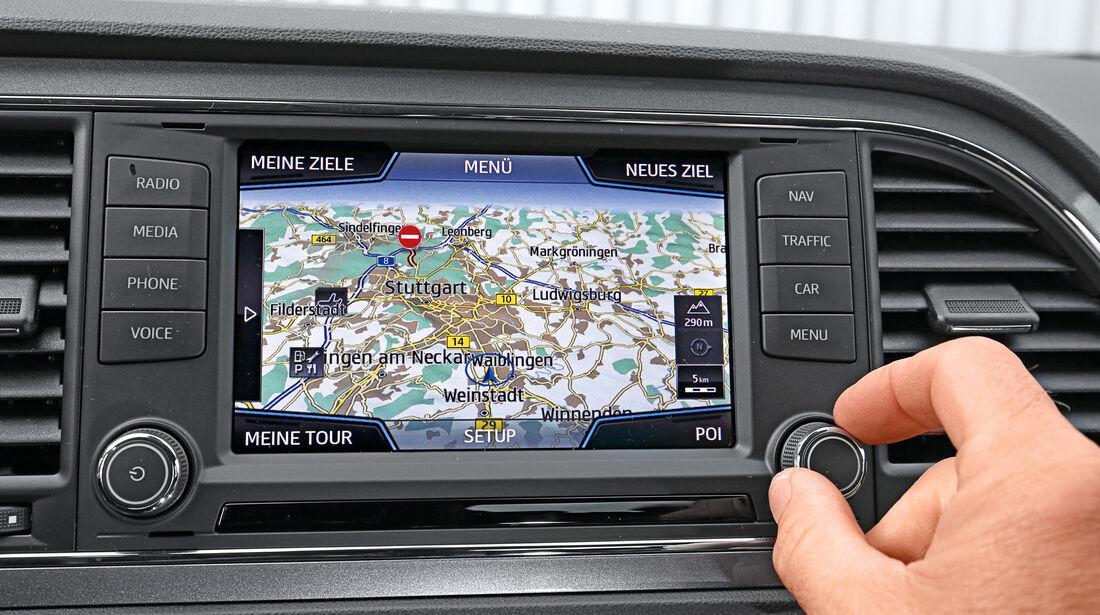 Seat Leon 2.0 TDI, Navi