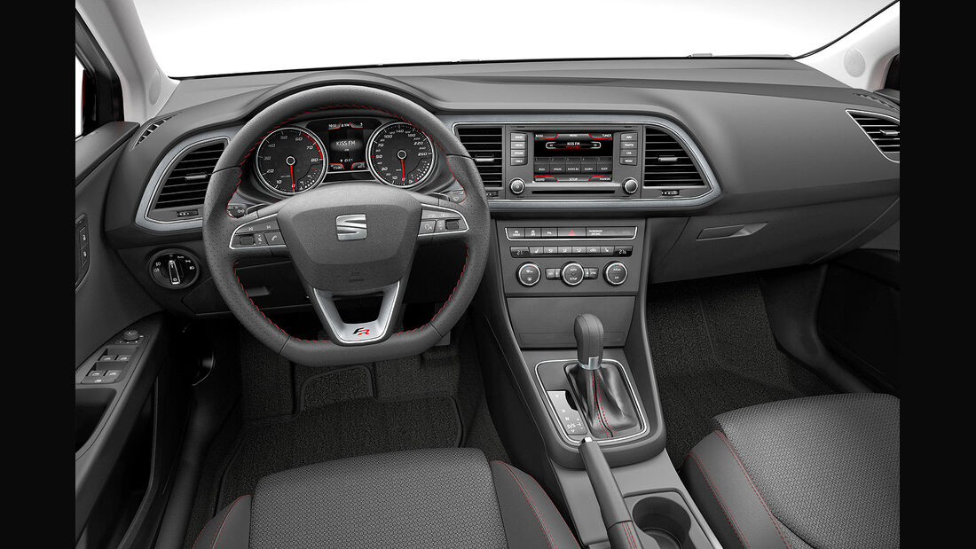 Seat Leon 2012, Innenraum, Cockpit