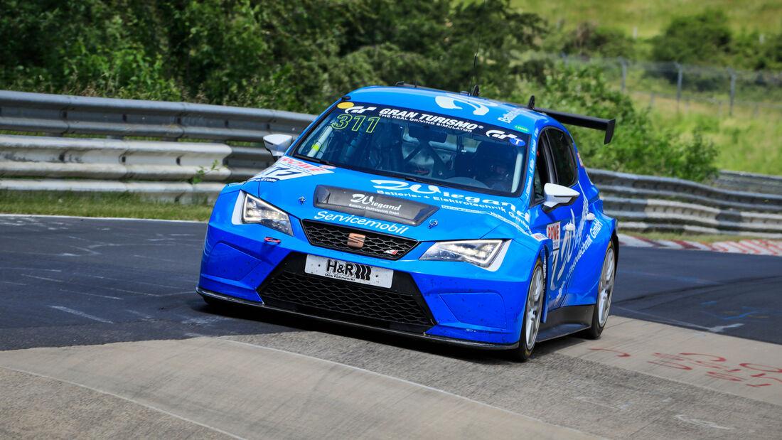 Seat Leon Cup Racer - Startnummer #311 - Team Mathol Racing e.V. - SP3T - NLS 2020 - Langstreckenmeisterschaft - Nürburgring - Nordschleife