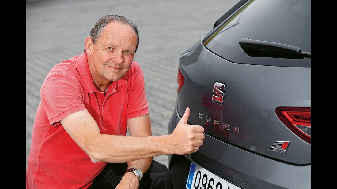 Seat Leon Cupra 280, Heck, Horst von Saurma