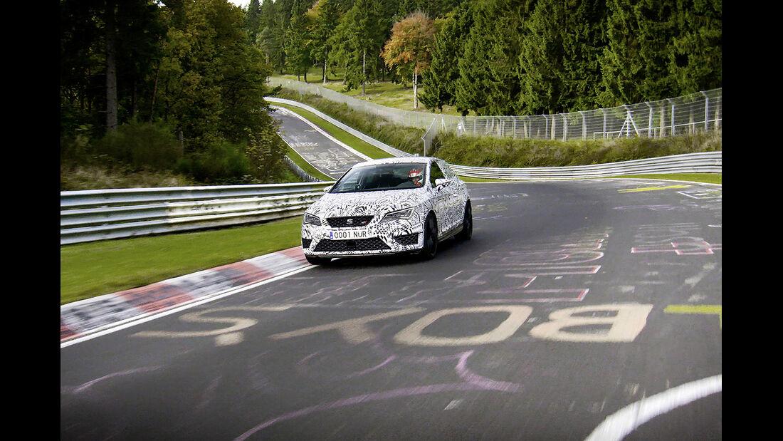 Seat Leon Cupra 280, Performance Pack, Rekordfahrt Nürburgring