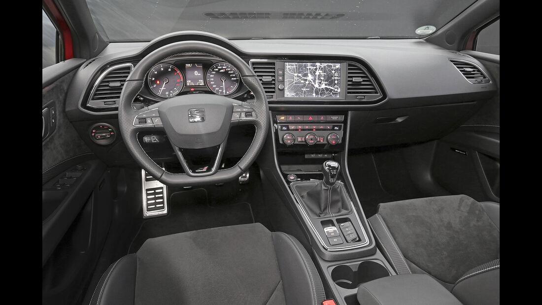 Seat Leon Cupra 300, Interieur