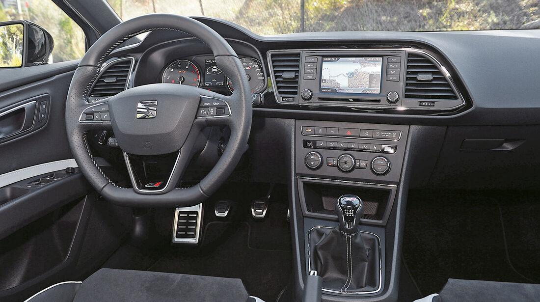 Seat Leon Cupra, Cockpit