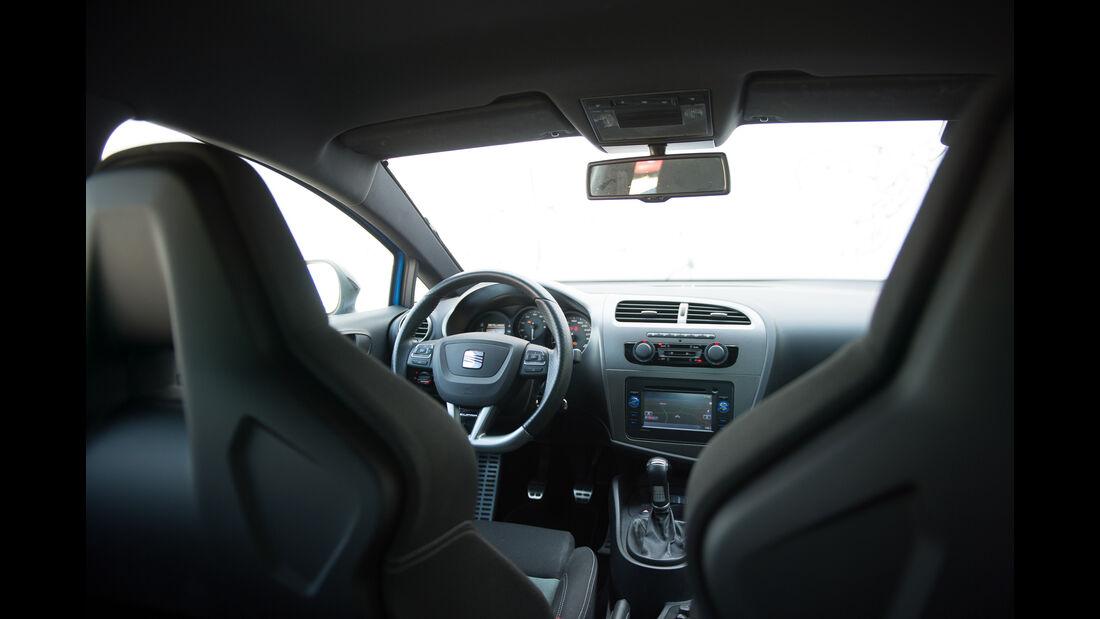 Seat Leon Cupra R, Cockpit