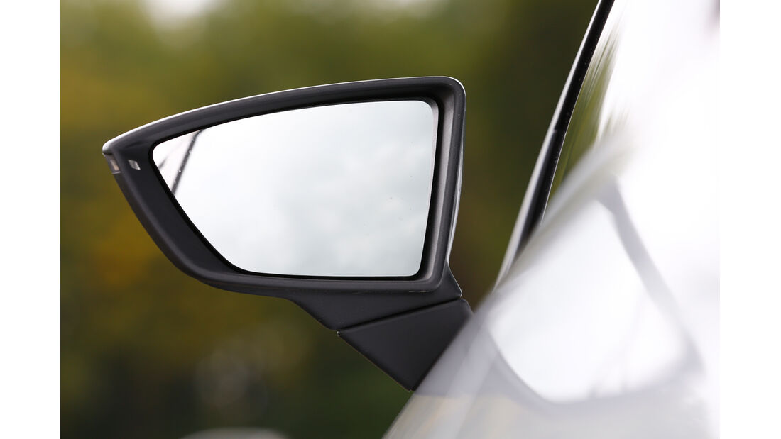 Seat Leon FR 2.0 TDI, Seitenspiegel
