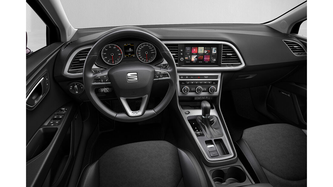 Seat Leon Facelift 2016 Sperrfrist 19.10. 19.00 Uhr
