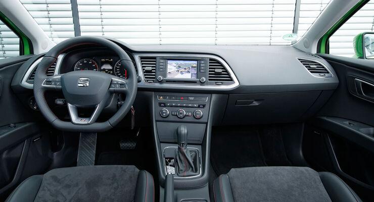 Seat Leon - Kaufberatung - Cockpit - Ausstattungslinie FR