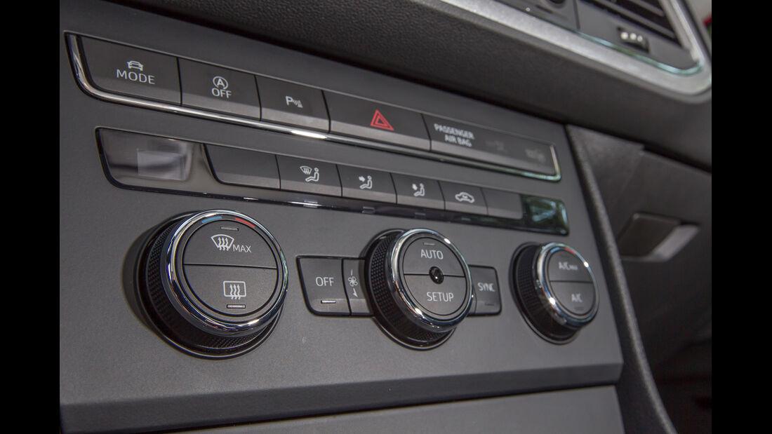 Seat Leon SC 1.4 TSI, Bedienelemente