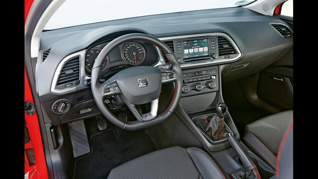 Seat Leon SC 1.8 TSI, Cockpit