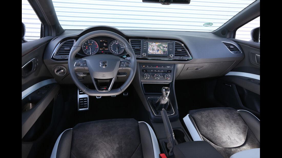 Seat Leon SC Cupra 280, Cockpit