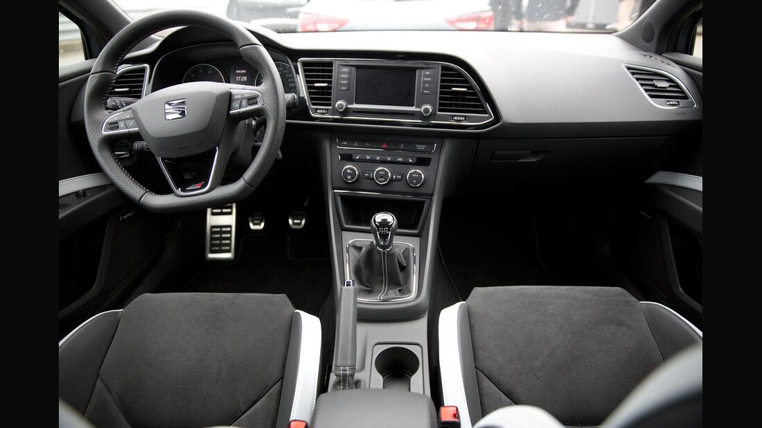 Seat Leon SC Cupra 280 Performance, Cockpit