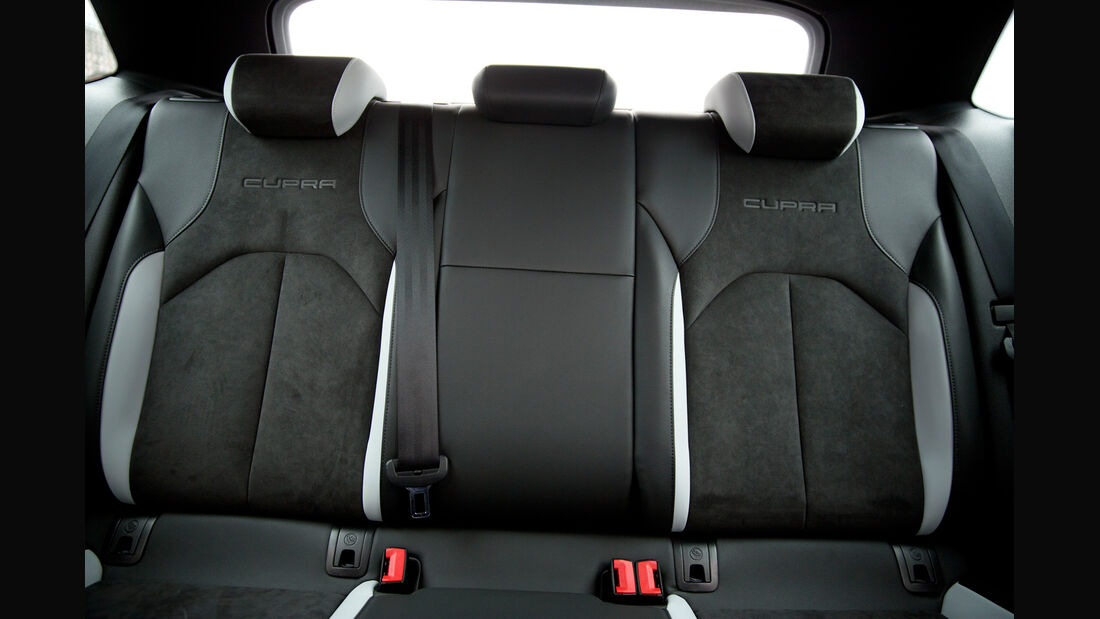 Seat Leon SC Cupra 280 Performance, Fondsitze