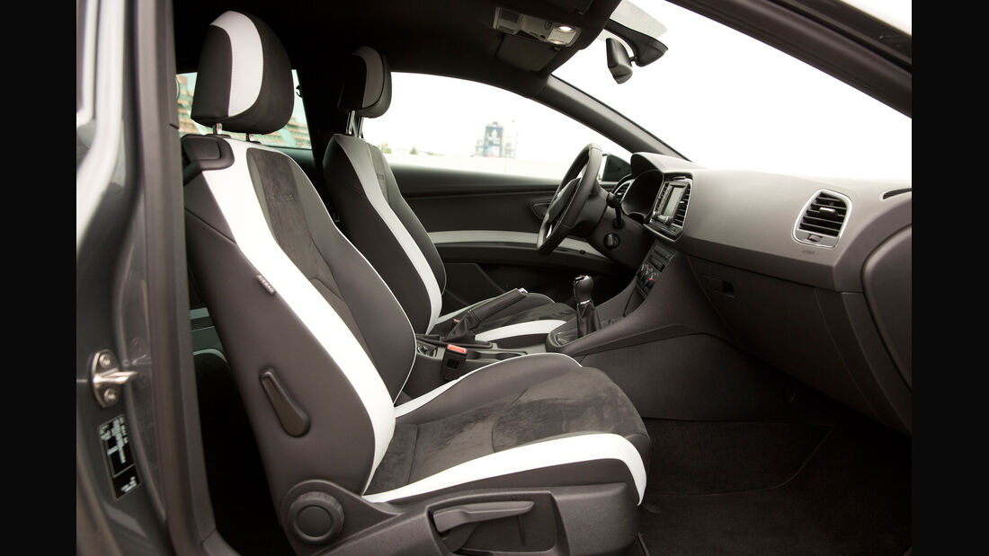 Seat Leon SC Cupra 280 Performance, Frontsitze