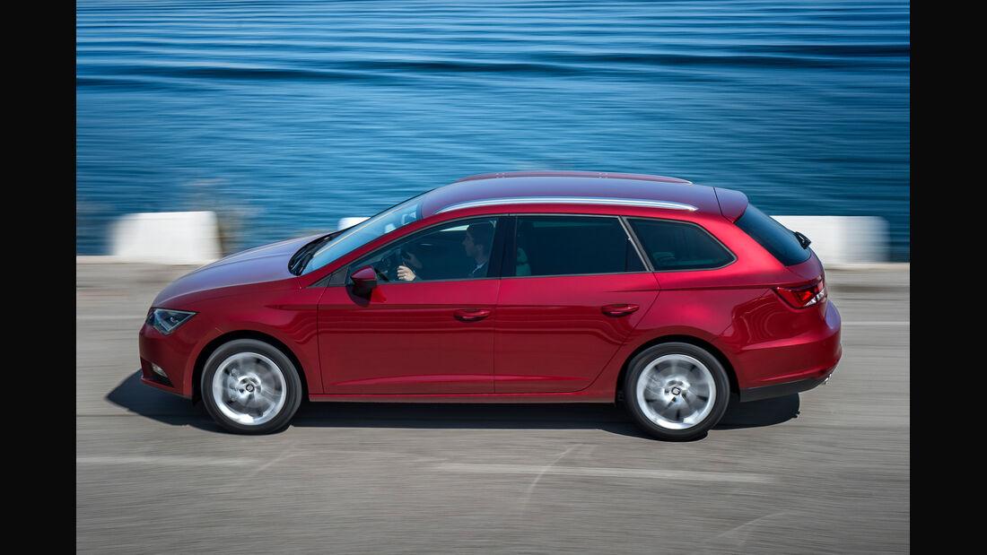 Seat Leon ST 1.6 TDI 4Drive, Seitenansicht