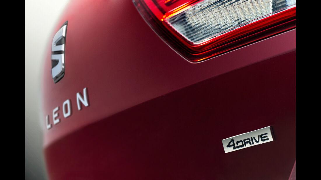 Seat Leon ST 1.6 TDI 4Drive, Typenbezeichnung, Heckleuchte