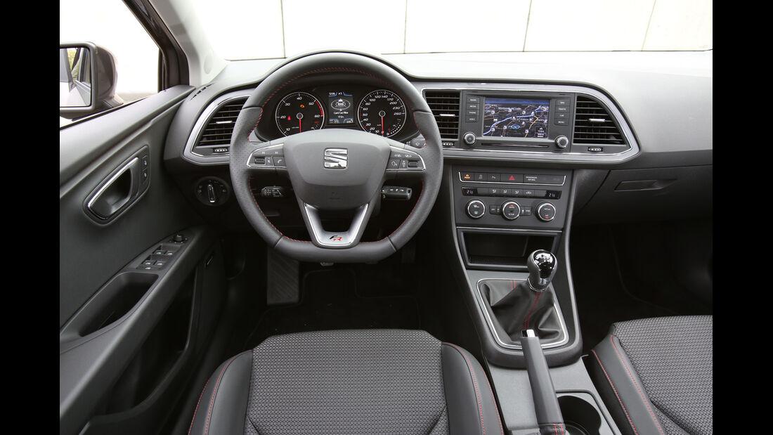 Seat Leon ST, Cockpit