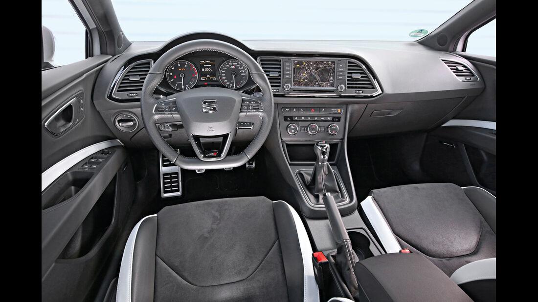 Seat Leon ST Cupra 265, Cockpit