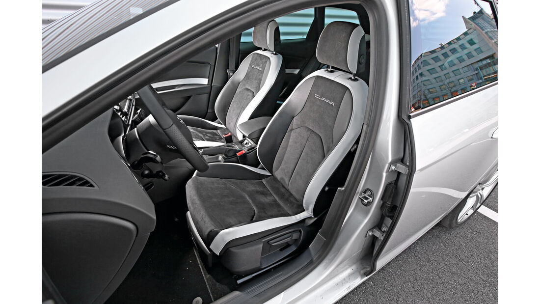 Seat Leon ST Cupra 265, Fahrersitz