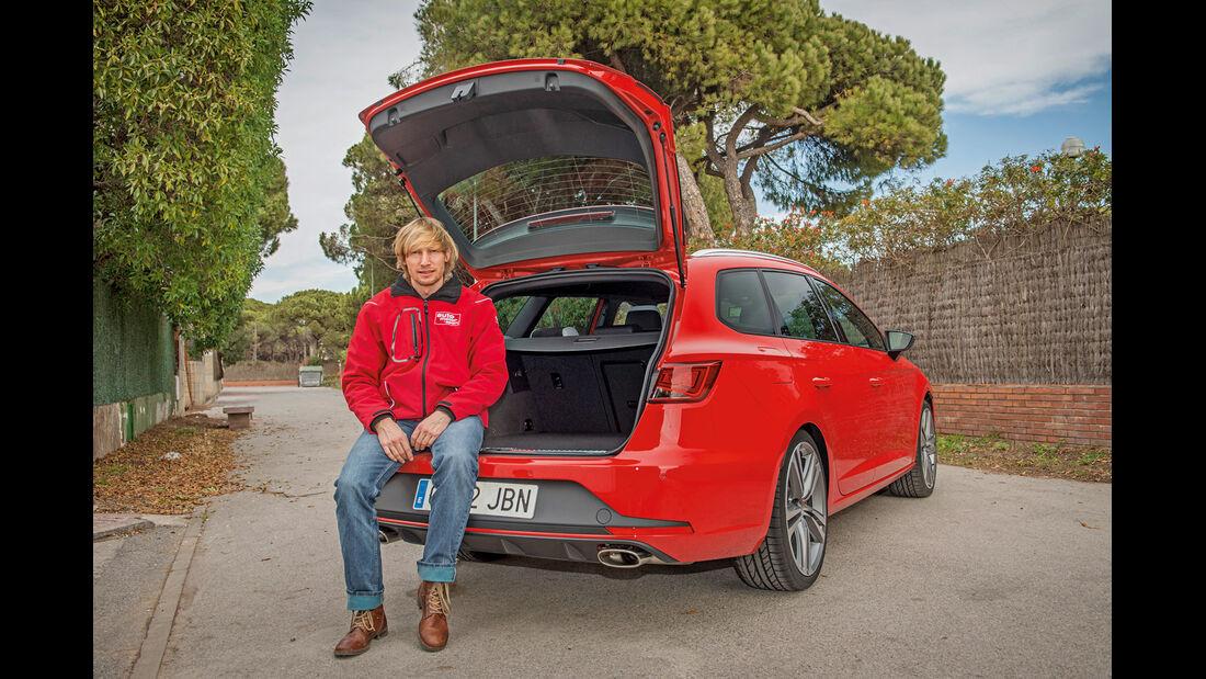 Seat Leon ST Cupra, Kofferraum