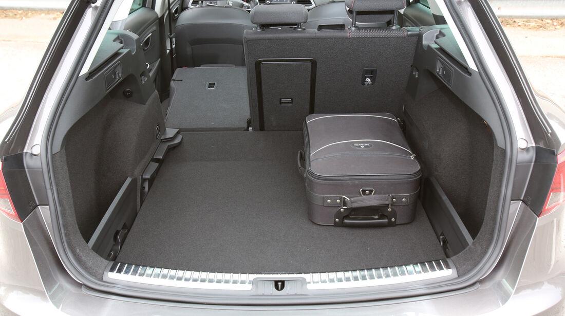 Seat Leon ST, Kofferraum