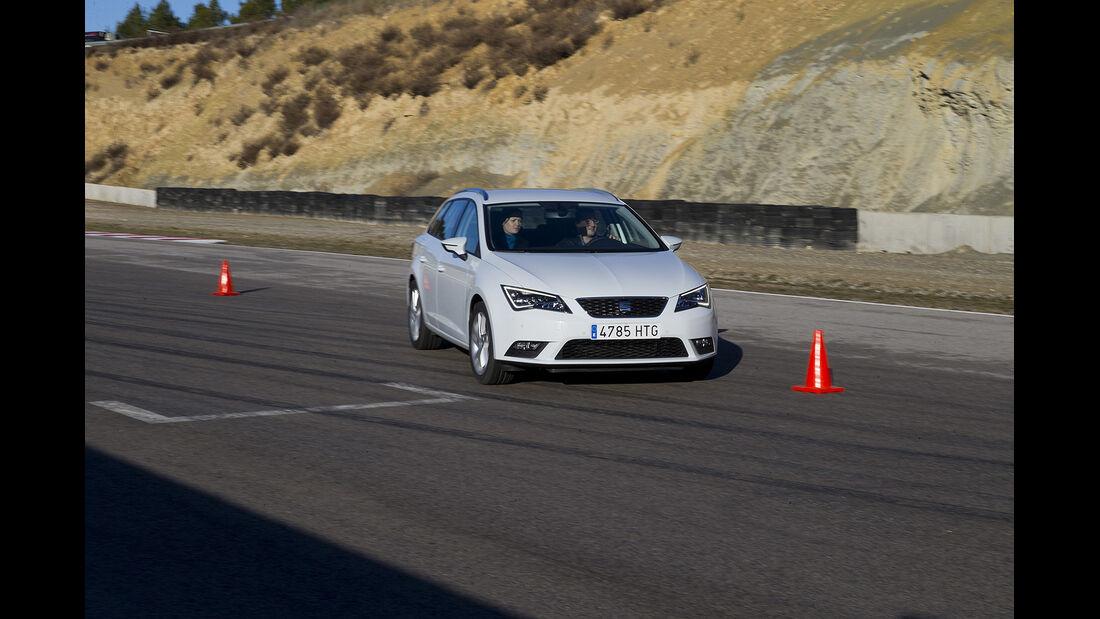 Seat Leon, ST, Leser-Testdrive, Slalom