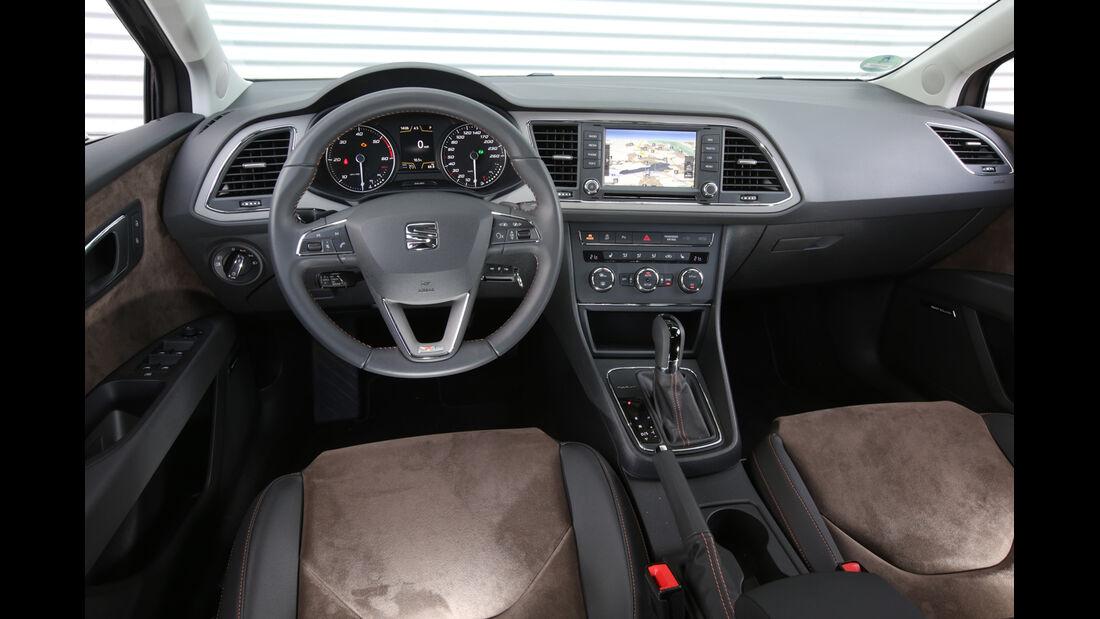 Seat Leon ST X-Perience 2.0 TDI, Cockpit