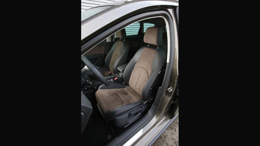 Seat Leon ST X-Perience 2.0 TDI, Fahrersitz