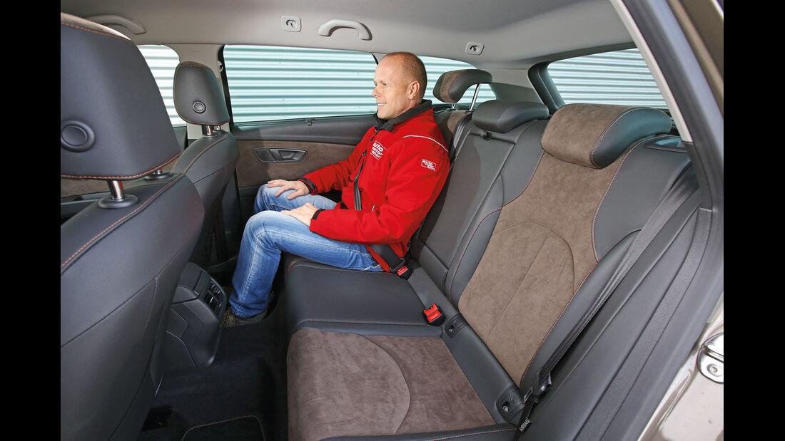 Seat Leon ST X-Perience 2.0 TDI, Fondsitz