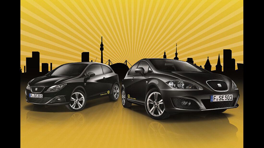 Seat Leon Seat Ibiza Sondermodell BVB Echte Liebe