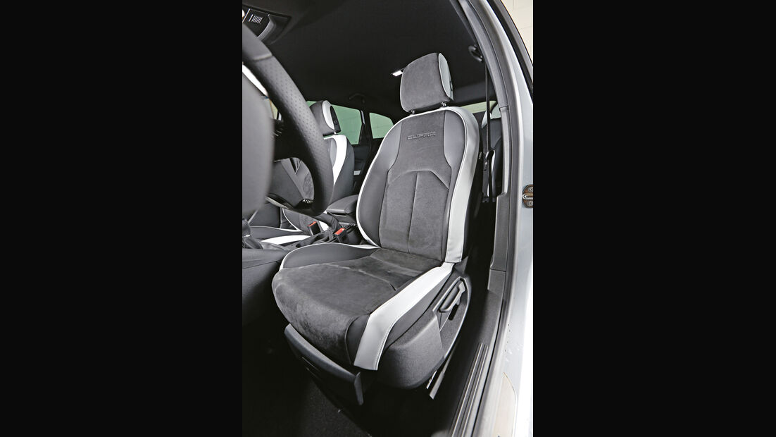 Seat Leon St Cupra 280, Fahrersitz