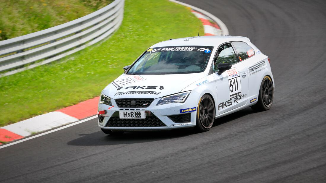 Seat Leon - Startnummer #511 - MSC Adenau e.V. im ADAC - VT2 - NLS 2021 - Langstreckenmeisterschaft - Nürburgring - Nordschleife