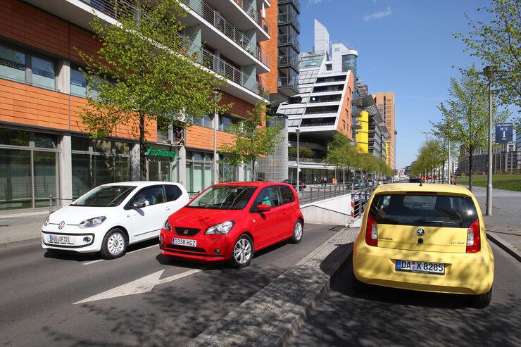 Seat MII, VW UP, Skoda Citigo