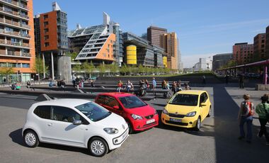 Seat MII, VW UP, Skoda Citigo