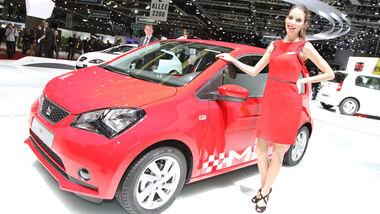 Seat Mii, Autosalon Genf 2012, Messe