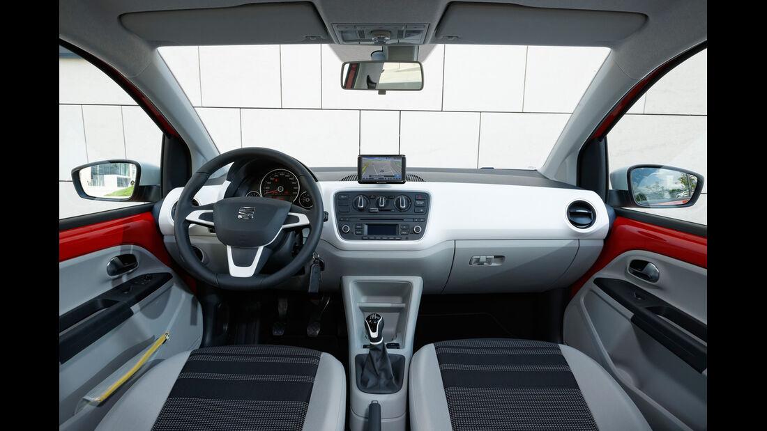 Seat Mii, Cockpit