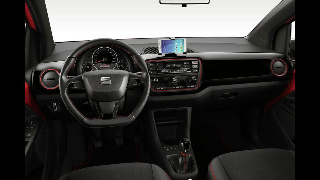 Seat Mii Facelift leaked